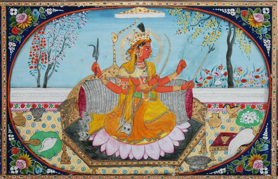 rs1_159-tantric-form-of-devi-kameshvari-in-kangra-1860 Online Form Kangra Bank on valley ra, valley india, map district, valley beautiful, valley tea,