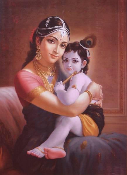 Yashodara y Krishna